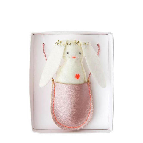Meri Meri bunny pocket necklace-accessories-Merri Merri-Dilly Dally Kids