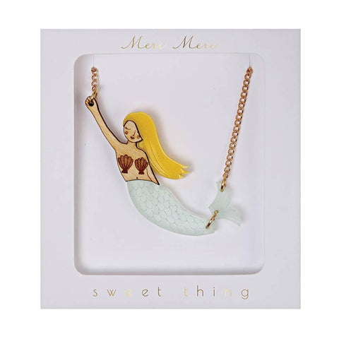 meri meri mermaid necklace-accessories-Merri Merri-Dilly Dally Kids