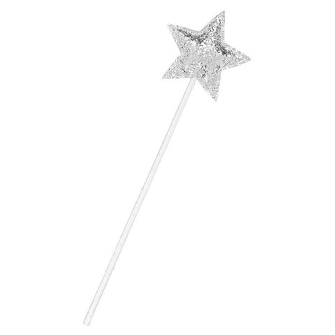 Mimi and Lula silver sequin sparkle star wand