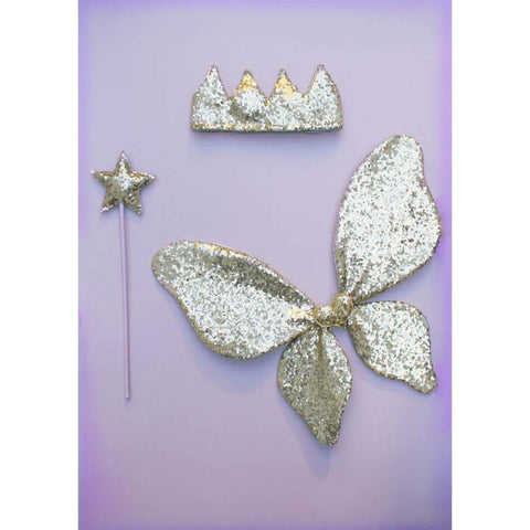 Mimi and Lula sparkle sequin wings