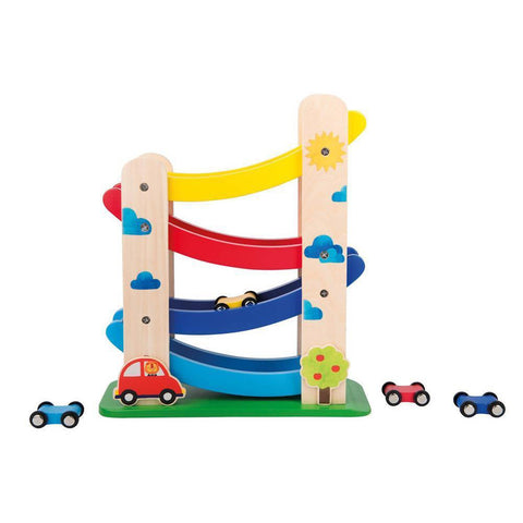 Moulin Roty cascading cars-baby-Fire the Imagination-Dilly Dally Kids