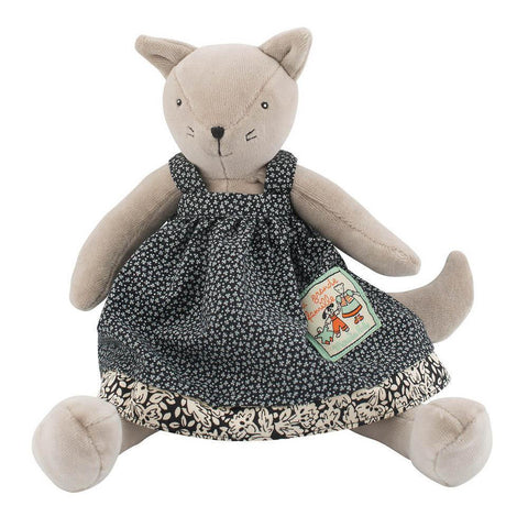 Moulin Roty Agathe cat-puppets, stuffies & dolls-Fire the Imagination-Dilly Dally Kids