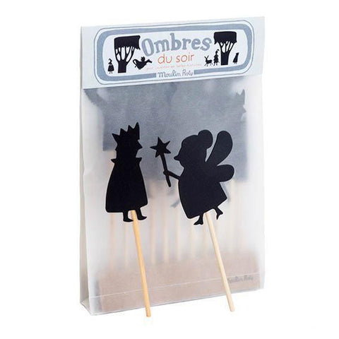 Moulin Roty fairytale shadow puppets-pocket money-Fire the Imagination-Dilly Dally Kids