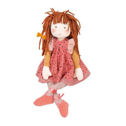 Moulin Roty les rosalies anemone rag doll-puppets, stuffies & dolls-Fire the Imagination-Dilly Dally Kids