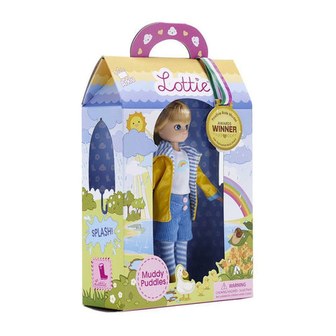 muddy puddles Lottie doll-dolls-Schylling-Dilly Dally Kids