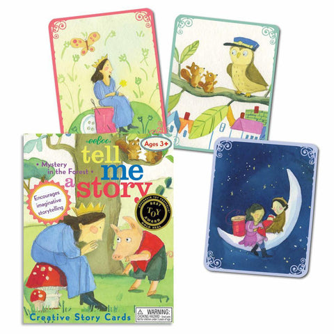 mystery in the forest story telling cards-games-eeBoo Toys & Gifts-Dilly Dally Kids