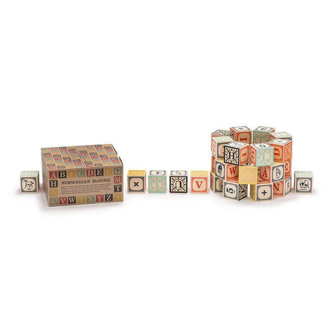 Norwegian ABC blocks-blocks & building sets-Uncle Goose-Dilly Dally Kids