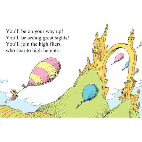 Oh, the Places You'll Go!-books-Penguin Random House-Dilly Dally Kids