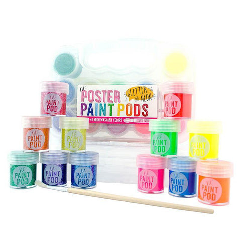Ooly lil paint pods poster paint - neon and glitter-arts & crafts-Ooly-Dilly Dally Kids