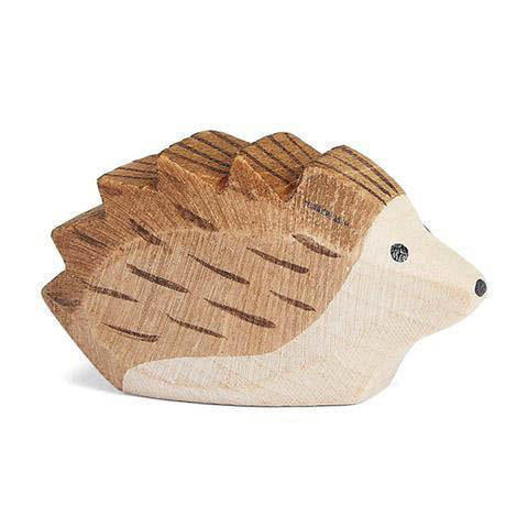 Ostheimer wooden baby hedgehog-people, animals & lands-Fire the Imagination-Dilly Dally Kids