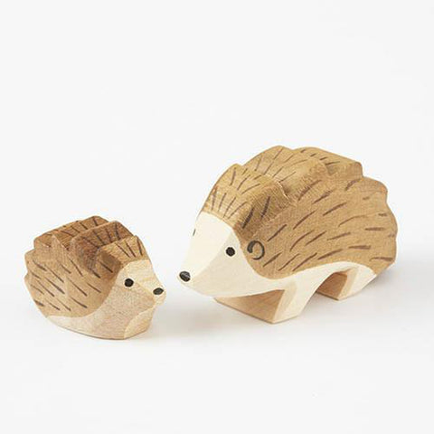 Ostheimer wooden hedgehog-people, animals & lands-Fire the Imagination-Dilly Dally Kids