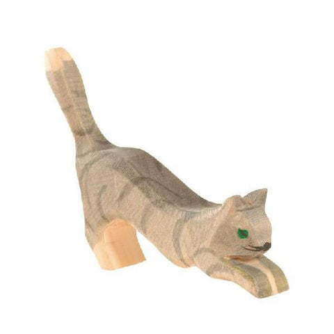 Ostheimer wooden jumping cat-people, animals & lands-Fire the Imagination-Dilly Dally Kids