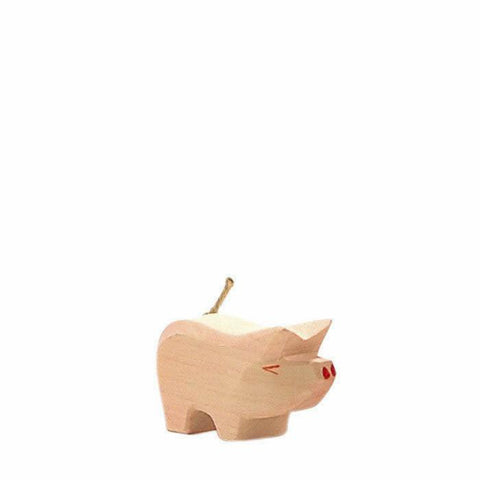 Ostheimer wooden piglet-people, animals & lands-Fire the Imagination-Dilly Dally Kids