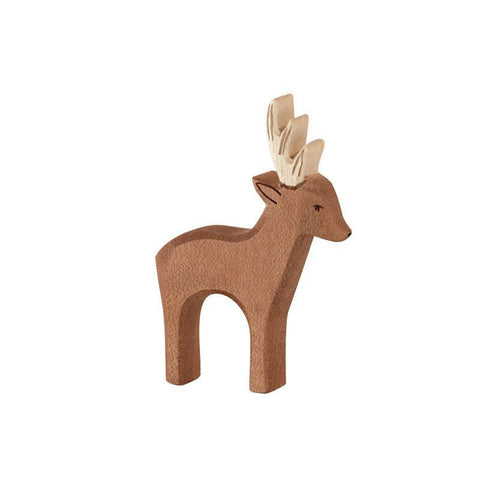 Ostheimer wooden roebuck deer-people, animals & lands-Fire the Imagination-Dilly Dally Kids