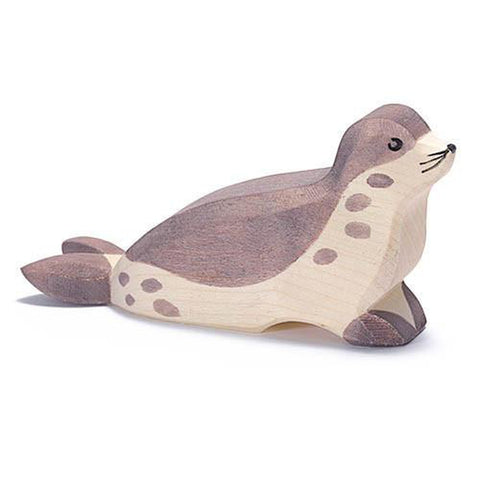 Ostheimer wooden sea lion-people, animals & lands-Fire the Imagination-Dilly Dally Kids