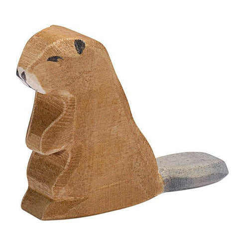 Ostheimer wooden sitting beaver-people, animals & lands-Fire the Imagination-Dilly Dally Kids