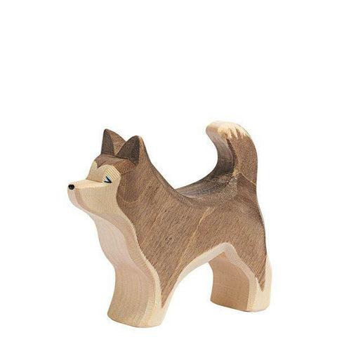 Ostheimer wooden sled dog-people, animals & lands-Fire the Imagination-Dilly Dally Kids