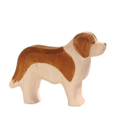 Ostheimer wooden St Bernard dog-people, animals & lands-Fire the Imagination-Dilly Dally Kids