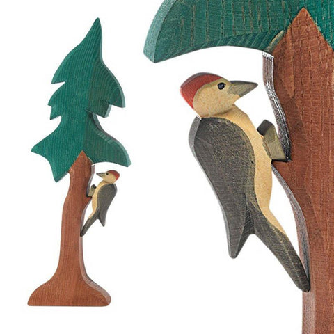 Ostheimer wooden woodpecker-people, animals & lands-Fire the Imagination-Dilly Dally Kids