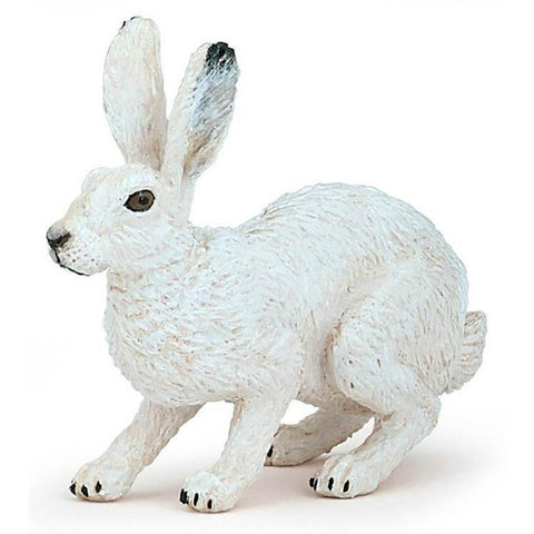 papo arctic hare figure-people, animals & lands-Le Toy Van-Dilly Dally Kids