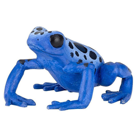 papo blue frog figure-people, animals & lands-Le Toy Van-Dilly Dally Kids