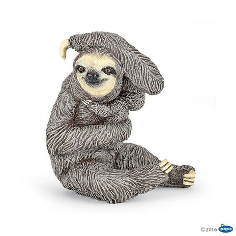 papo sloth figure-people, animals & lands-Le Toy Van-Dilly Dally Kids