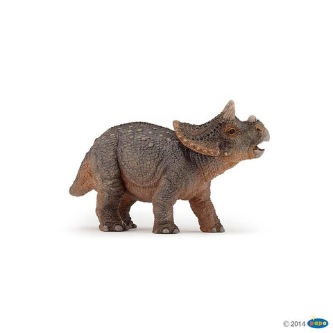 papo young triceratops figure-people, animals & lands-Le Toy Van-Dilly Dally Kids