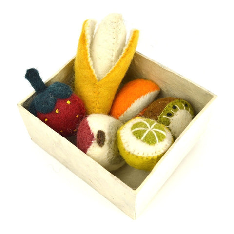 papoose fruit set in box