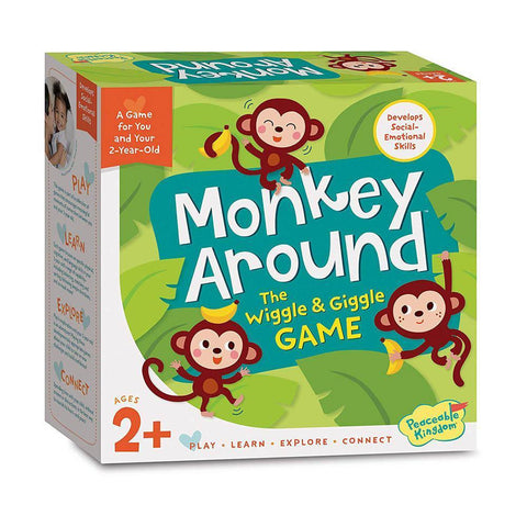 Peaceable Kingdom Monkey Around game
