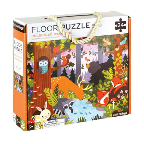 Petit Collage enchanted woodlands floor puzzle-puzzles-Petit Collage-Dilly Dally Kids