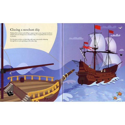 Pirate Sticker Book-activity books-Harper Collins-Dilly Dally Kids
