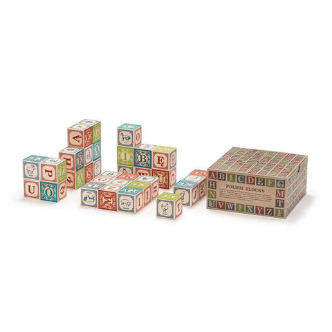 Polish ABC blocks-blocks & building sets-Uncle Goose-Dilly Dally Kids