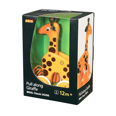 pull-along giraffe-toddler vehicles-Brio-Dilly Dally Kids
