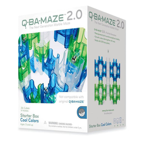 q-ba-maze 2.0 cool colours-blocks & building sets-Outset Media-Dilly Dally Kids