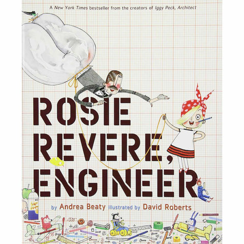 Rosie Revere, Engineer-books-Hachette-Dilly Dally Kids