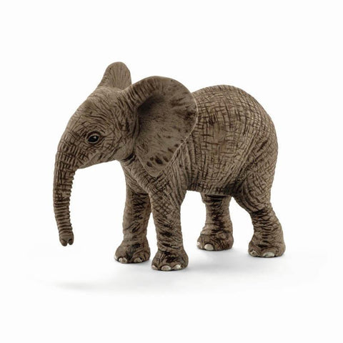 Schleich African elephant calf-people, animals & lands-Schleich-Dilly Dally Kids