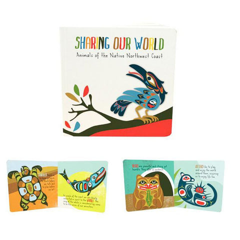 Sharing Our World board book-books-Raincoast-Dilly Dally Kids