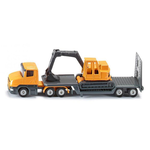 Siku super low loader with excavator-cars, boats, planes & trains-Siku-Dilly Dally Kids