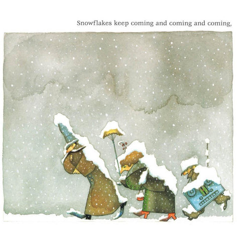 Snow board book-books-Raincoast-Dilly Dally Kids