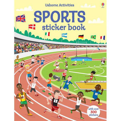 Sports sticker book-arts & crafts-Harper Collins-Dilly Dally Kids