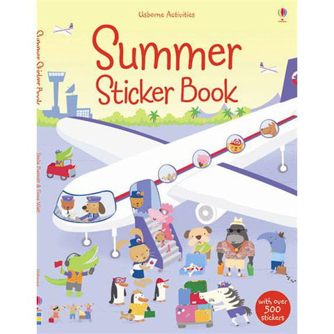 Summer sticker book-activity books-Harper Collins-Dilly Dally Kids