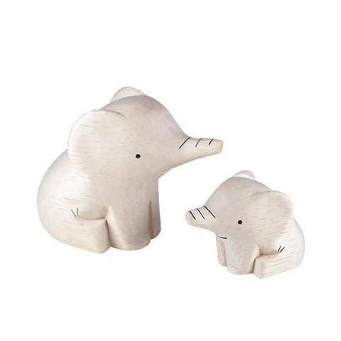 T-lab polepole wooden elephant family-people, animals & lands-T-lab-Dilly Dally Kids