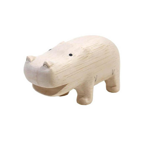 T-lab polepole wooden hippo-Unclassified-T-lab-Dilly Dally Kids