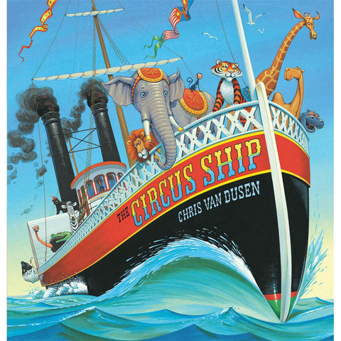 The Circus Ship-books-Penguin Random House-Dilly Dally Kids