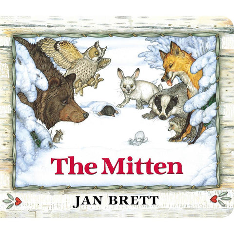 The Mitten board book-books-Penguin Random House-Dilly Dally Kids