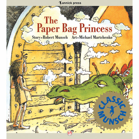 The Paper Bag Princess-books-Raincoast-Dilly Dally Kids