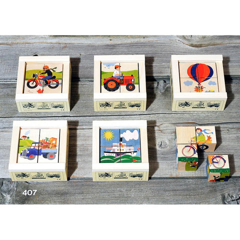 transportation cube puzzle-puzzles-Atelier Fischer Wooden Toys-Dilly Dally Kids