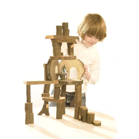 tree blocks small building set-blocks & building sets-Decor Spielzeug Wooden Toys-Dilly Dally Kids