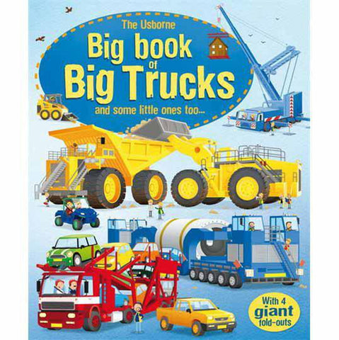 usborne big book of trucks-science & nature-Harper Collins-Dilly Dally Kids