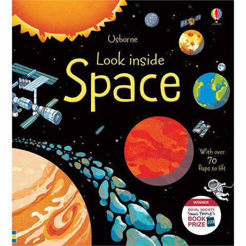 Usborne Look Inside Space-books-Harper Collins-Dilly Dally Kids